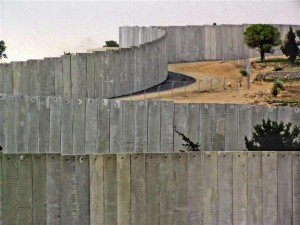 Separation Wall in Abu Dis