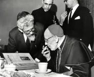 Rabbi Heschel und Kardinal Bea