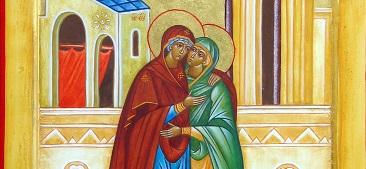 "<span class=""fancy-title"">Blessed Feast of Visitation</span><span>Readings : Zep 3:14-18; Is 12:2-6;Lk 1:39-56 </span>"