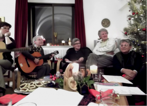 Singing carrols in Ecce Homo